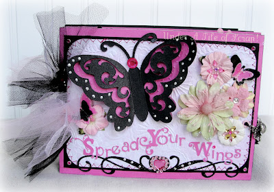 Girly scrapbook