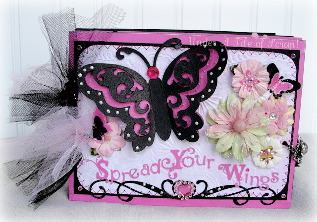 Girl graduation scrapbook