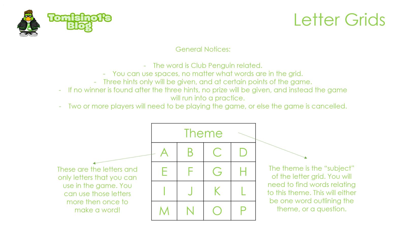 Letter Grids