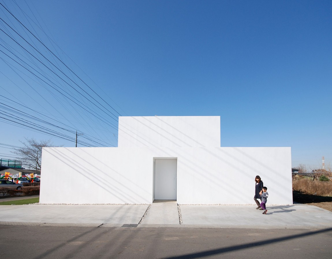 simplicity love library house japan shinichi ogawa