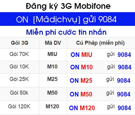 gói cước 3G Mobifone dành cho sinh viên học sinh 1