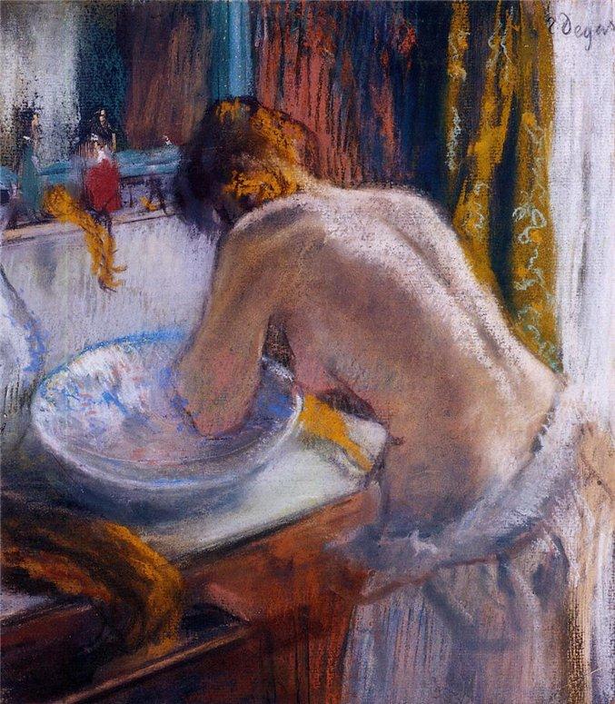 Edgar Degas | The Bather series