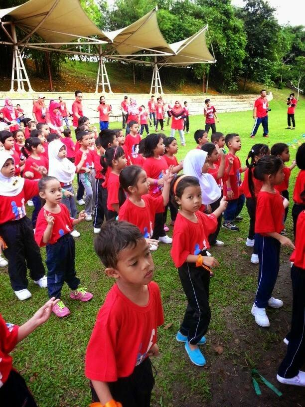 Hari Keluarga dan Sukaneka Pra 2014