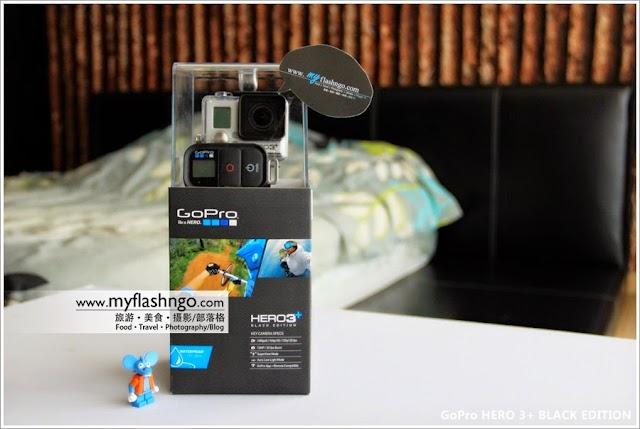 GoPro Hero 3+ 极限运动摄影机黑色旗舰版
