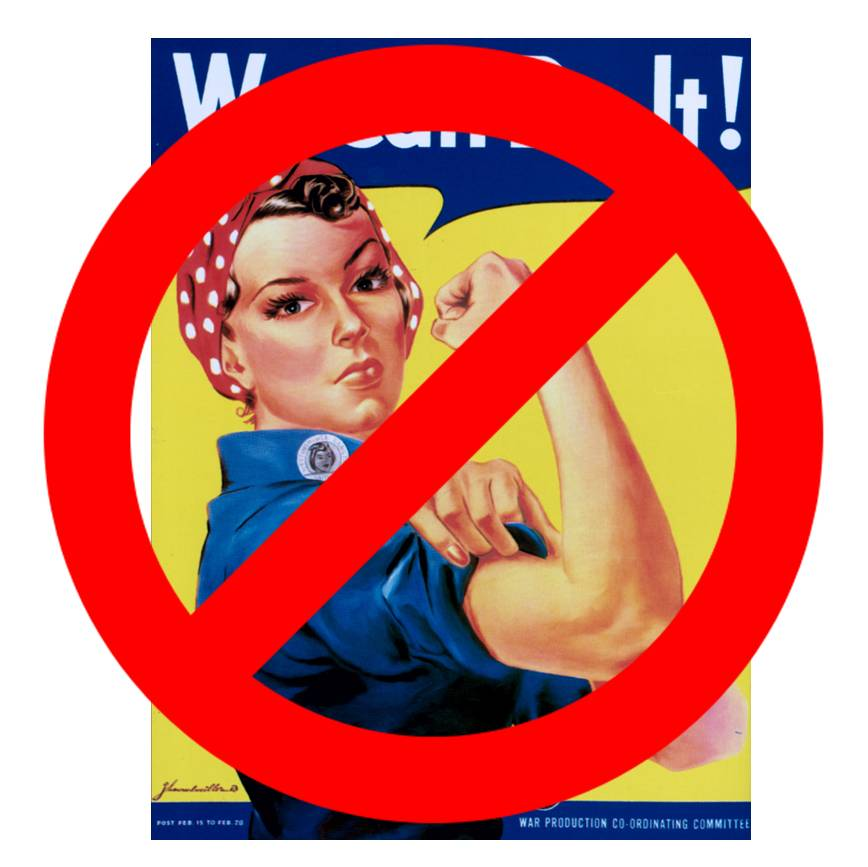 Rosie The Riveter Can No Longer Represent The Face Of Microbicide