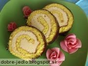 Karamelová roláda - recept