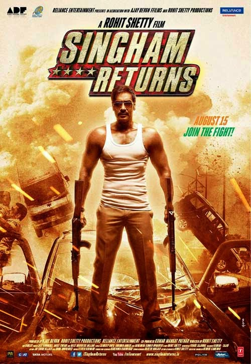 Singham Returns Movie Poster