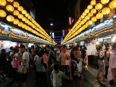 Keelung Miaokou NIght Market Taiwan