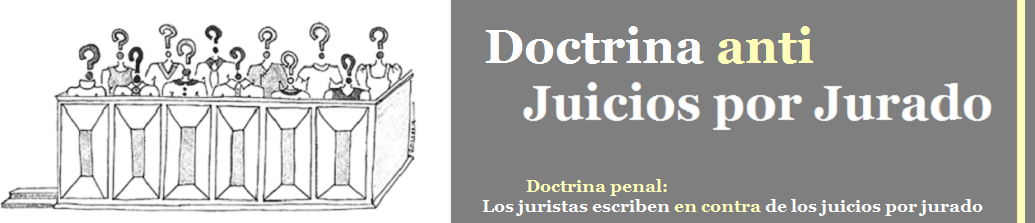 Doctrina anti Juicios por Jurado