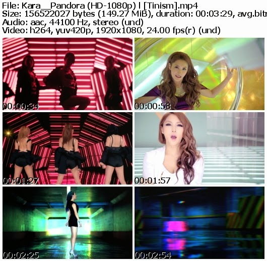 Download MV Kara (카라) - Pandora (판도라) (Full HD 1080p)