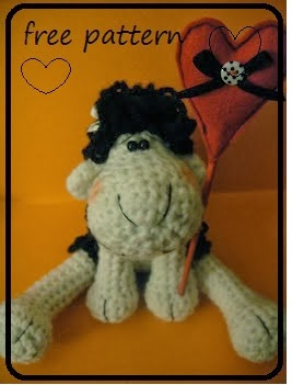 Crochet sheep - free pattern!!!