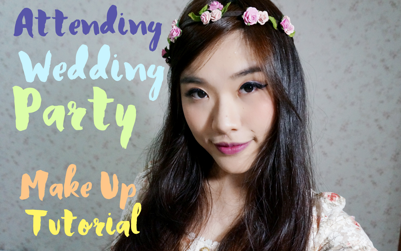 Makeup for Attending A Wedding Party ms.rheas