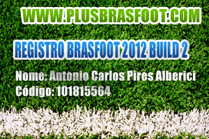 [Registro Brasfoot 2012][Registro Build 2 2012!] REGISTRO
