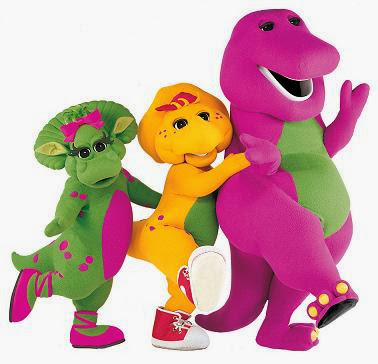 The Cartoon Funny Barney  Friends American Childrens Television