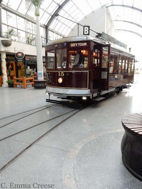 Christchurch Tourist Tram New Zealand