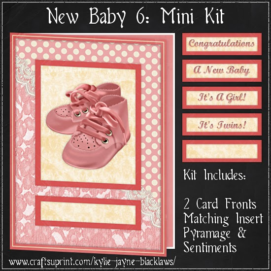 http://www.craftsuprint.com/card-making/mini-kits/mini-kits-new-baby/new-baby-6-pyramage-mini-kit.cfm