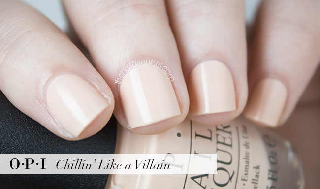 OPI Chillin' Like a Villain Swatch | The Nailasaurus | British Nail Blog