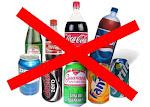 NÃO ao refrigerante