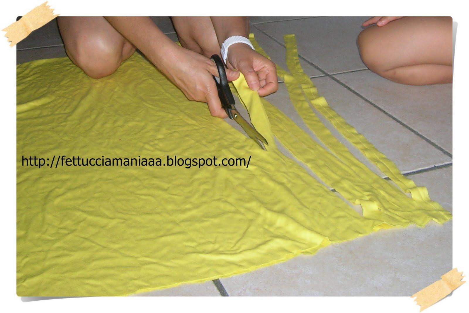 Creando con luncinetto...: Come ricavare la fettuccia da ...