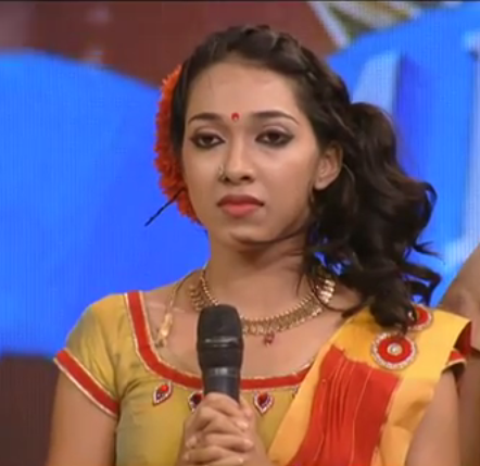 Susmitha from Thrissure, D4 Dance Contestant