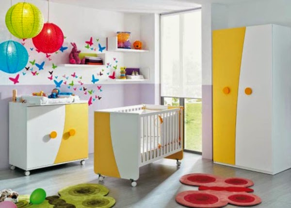 Modern Baby Room Furniture : 15 Ultra modern baby room ideas, furniture and designs
