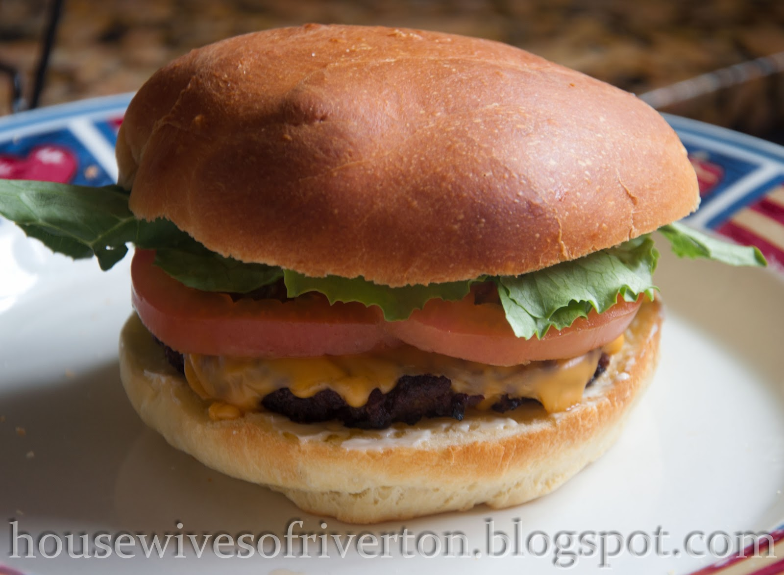Homemade Hamburger Buns -