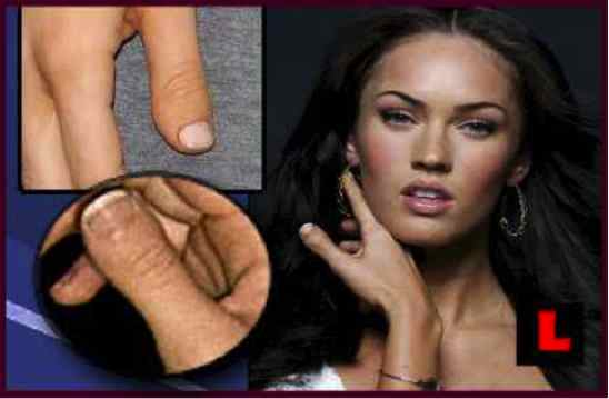 megan fox thumb finger. megan fox thumb fingers. quot