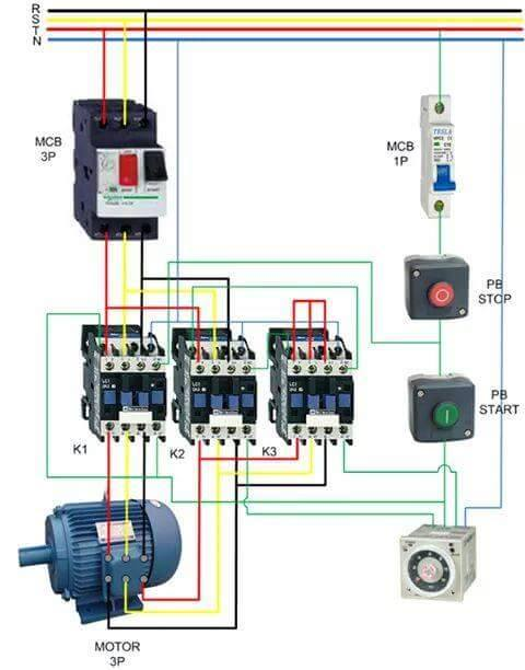 star delta starter circuit diagram pdf star image circuit diagram of star delta starter timer images oem on star delta starter circuit diagram
