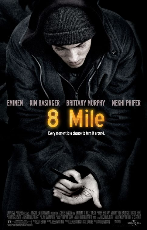 8 Mile movie poster