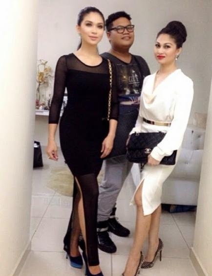 Fesyen Pelik Anzalna Nasir Gaun Ketat Nampak Peha
