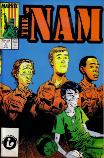 Cover of The 'Nam #9 from Marvel Comics