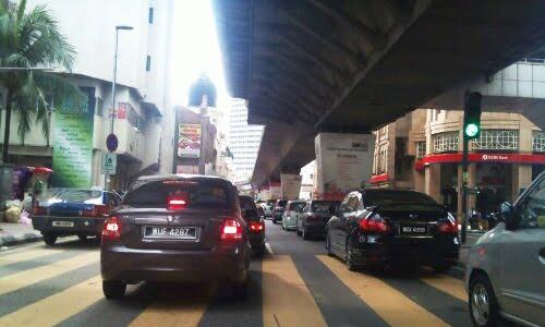 kuala lumpur traffic jam