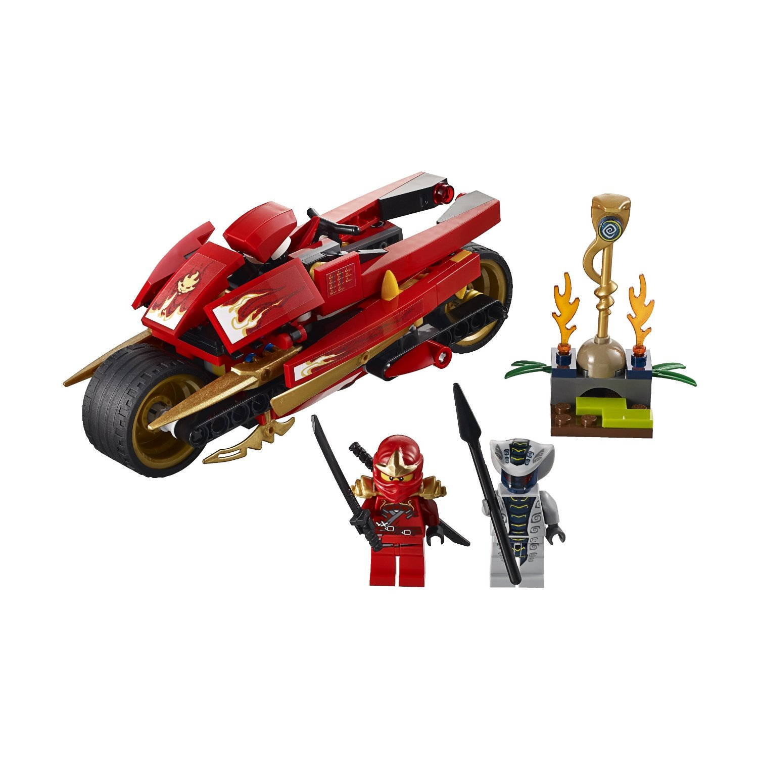 lego image lego ninjago kai 39 s blade cycle 9441. Black Bedroom Furniture Sets. Home Design Ideas