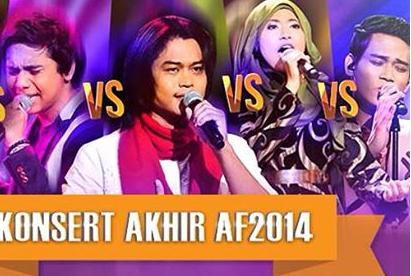 Konsert Akhir AF2014