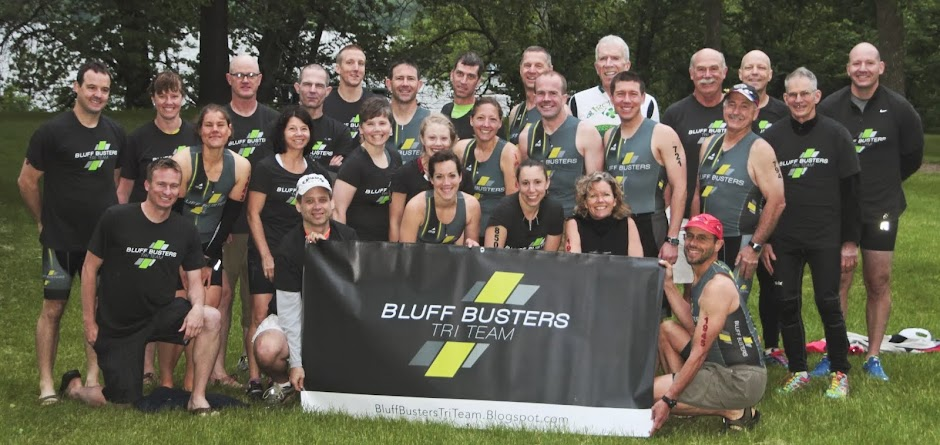 Bluff Busters Tri Team