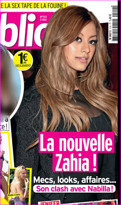 Zahia bat Nabilla en Une de Public