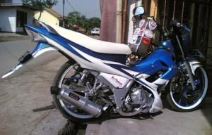 Foto Modif Satria 150 fu 2012 Ceper