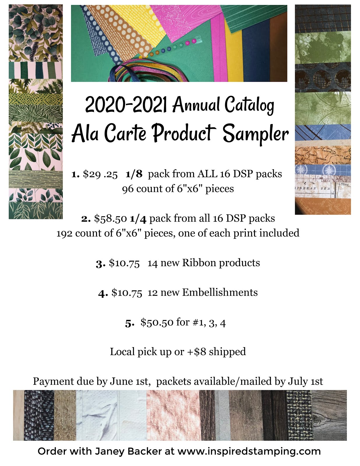 Order a Product Sampler