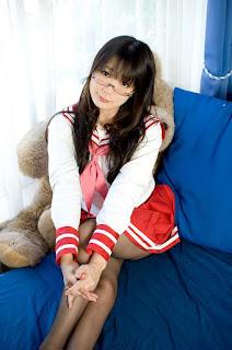 Lucky Star Miyuki Takara Seifuku Cosplay by Namachoco