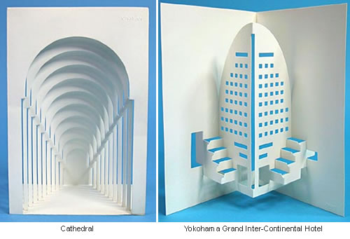 Origami art cut fold for Architecture origami
