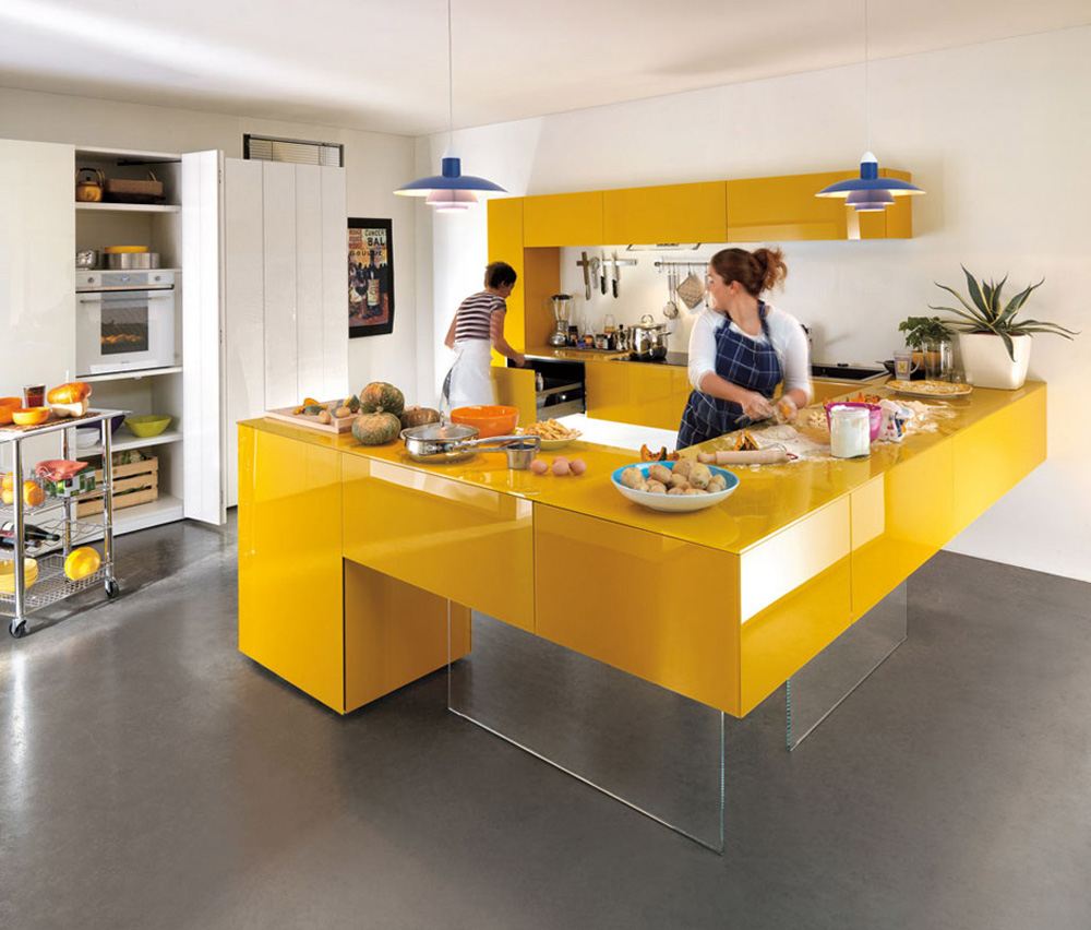 Design Kitchen ▻ kitchen design : continuous kitchen designer kitchen designer