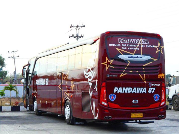 Bus pandawa jetbus 2 mercedes benz oc 500 rf 2542 merah for Mercedes benz oc