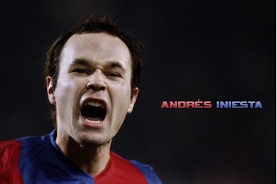 Manchester City Siap Boyong Iniesta, Andreas Iniesta, Manchester City, Iniesta, Liga Champions, The Citizen