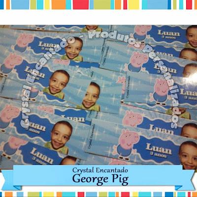 adesivos George Pig - Peppa Pig