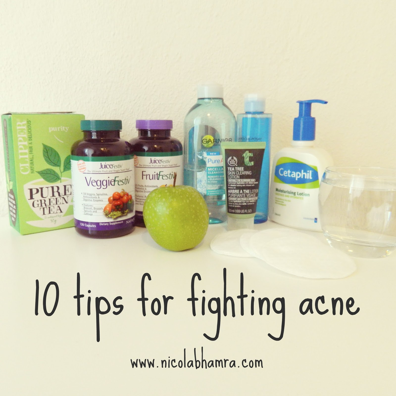 Acne fighting tips
