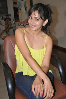Rakul Preet Singh Latest Pictures in Jeans at Theega and Loukyam Press Meet ~ Celebs Next
