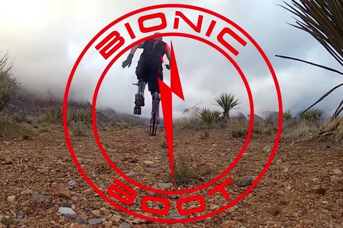 Botas Biônicas, bionic boots