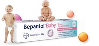 Amostra Gratis Creme Bepanton Baby