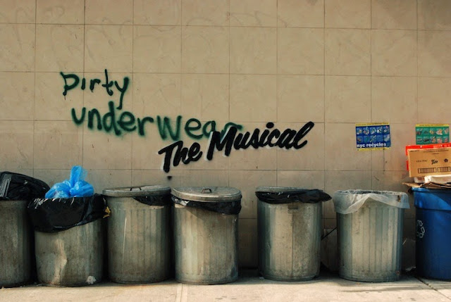 """The Musical"" Banksy's New Pieces In New York City For The Better Out Than In Show. 3"