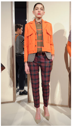 PRINTED PANTS FALL 2012 J CREW PRESENTATION